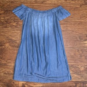 Cloth & stone Blue jean dress